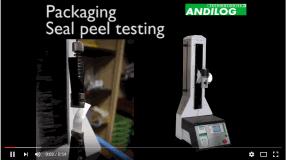 video packaging seal peel testing